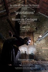 affiche spectacle gravitations a Cal Mateu