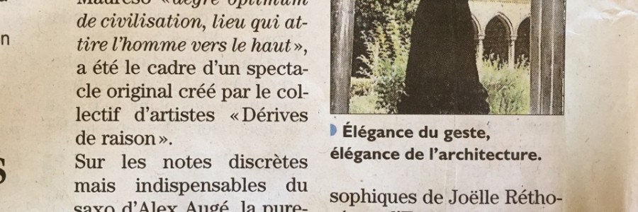 Article dans «l'Indépendant», Arles-sur-Tech