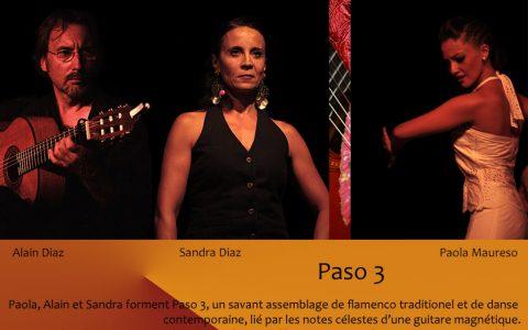 Paso 3 – trio flamenco – à Arles-sur-Tech